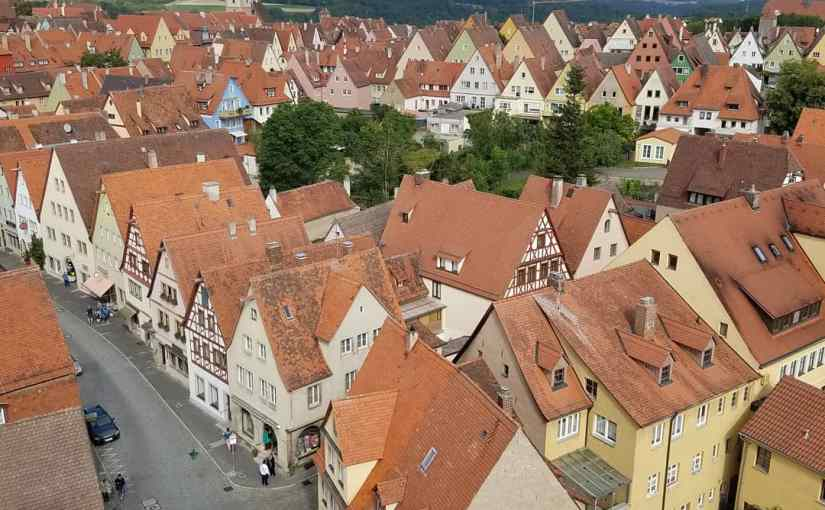 Rothenberg, Germany's finest medievaltown.